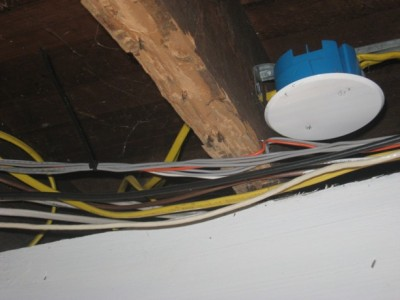 termite damaged floor joist