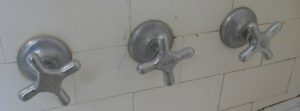 3 Handle Tub Shower Faucet