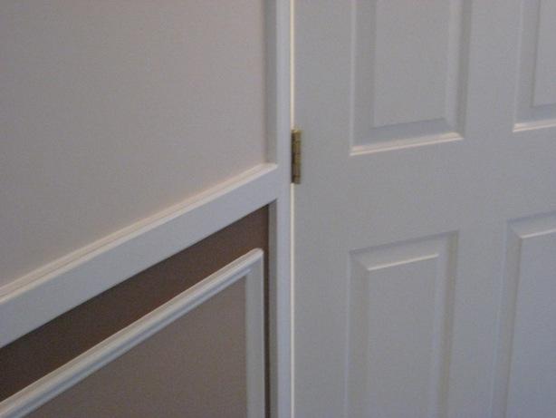 Make an outswinging door inswinging :: chairrail door and door hinges right hand door