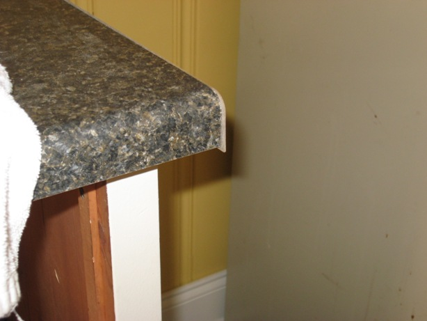 Countertop End Cap : ... Laminate Countertop End Caps Will Be Larger Than The At First Cap