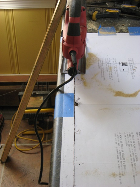 How to cut laminate countertop fabulous this is a cutting for Kitchen worktop cutting template