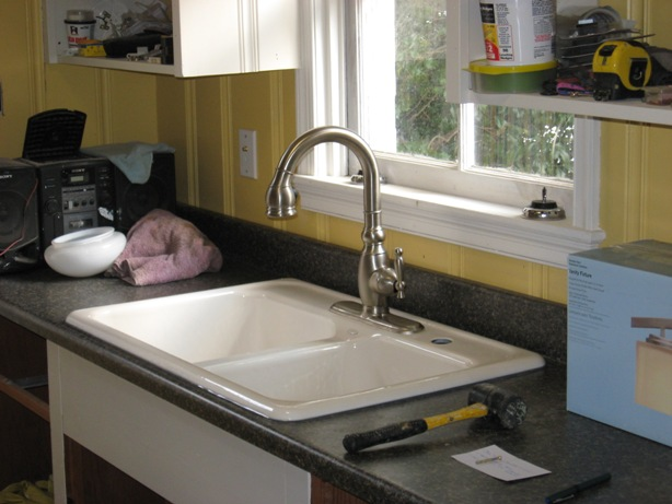 Installing A Self Rimming Sink In A Postform Laminate Countertop