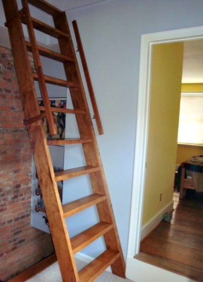 Upright Attic Stairs