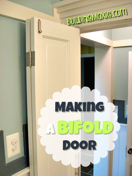 Making A Bi Fold Door From An Existing Wood Door