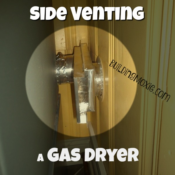 Side Venting a Gas Dryer