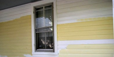 Testing Paint Colors on Wood Siding