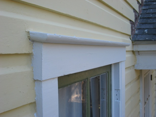 Installing window and door cap flashing building moxie for Installing exterior window trim on siding