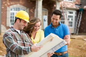 Builder with Couple