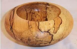 spalted wood bowl image via Kit Tosello