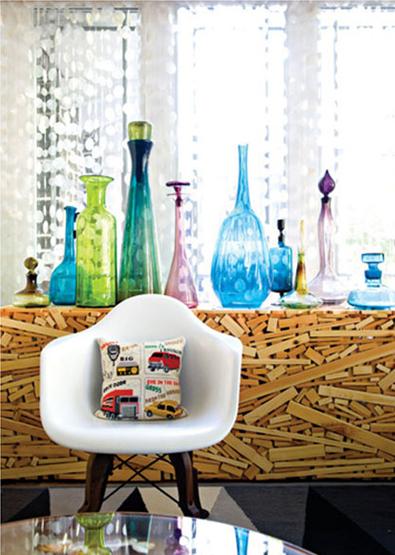 decorative glass crayola theme