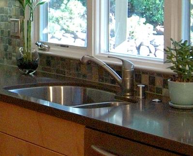 Kitchen Faucet under a Window