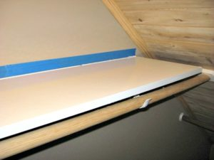 cedar closet shelving