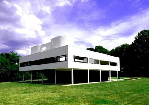 Le Corbusier. Villa Savoye. Poissy, Paris, Francia image via Ana M. Manzo