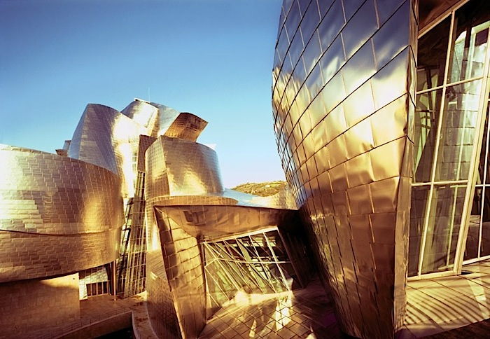 Guggenheim Museum in Bilbao by Frank Gehry image via Ana M. Manzo
