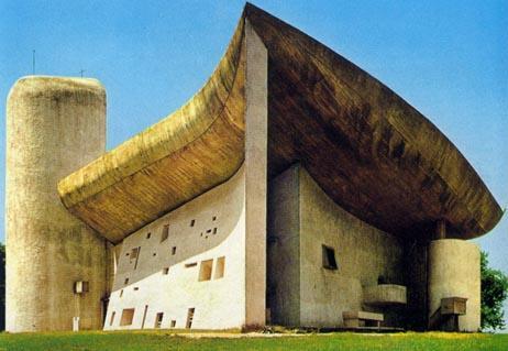 Notre Dame du Haut Chapel, Ronchamp, France image via Ana M. Manzo