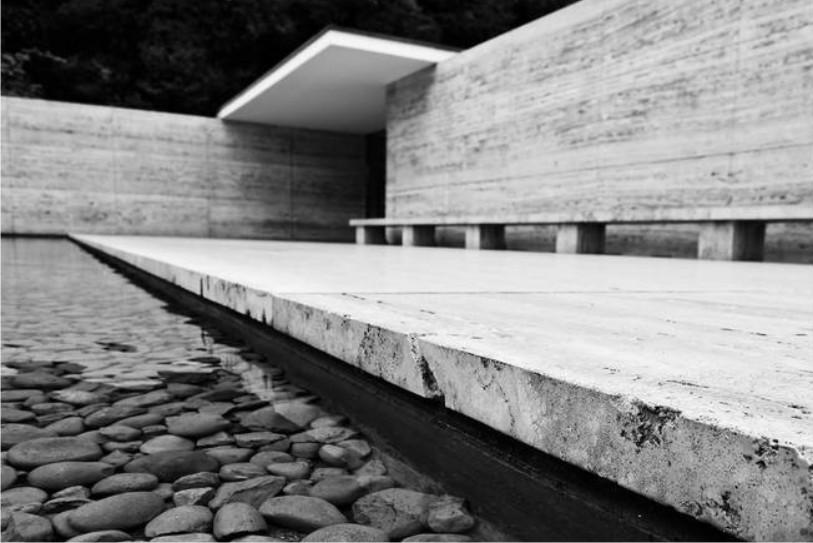 Mies van der Rohe the Barcelona Pavilion image via Ana M. Manzo