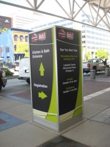 Kiosk of the 2010 Remodeling Show in Baltimore