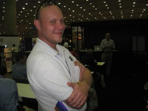sean lintow sr. @SLSConstruction at the 2010 Remodeling Show Baltimore