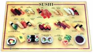 sushi poster borrowed from sushilinks.com via Sushilinks.com