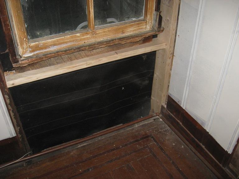 my wood window (in process)