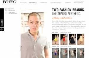 Jason Wu Fashion and Faucets on Brizo.com