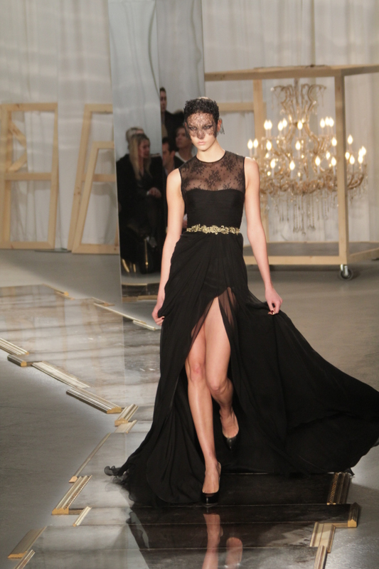 Jason Wu Show Fall 2011 Black Gown image by Jayme Thorton