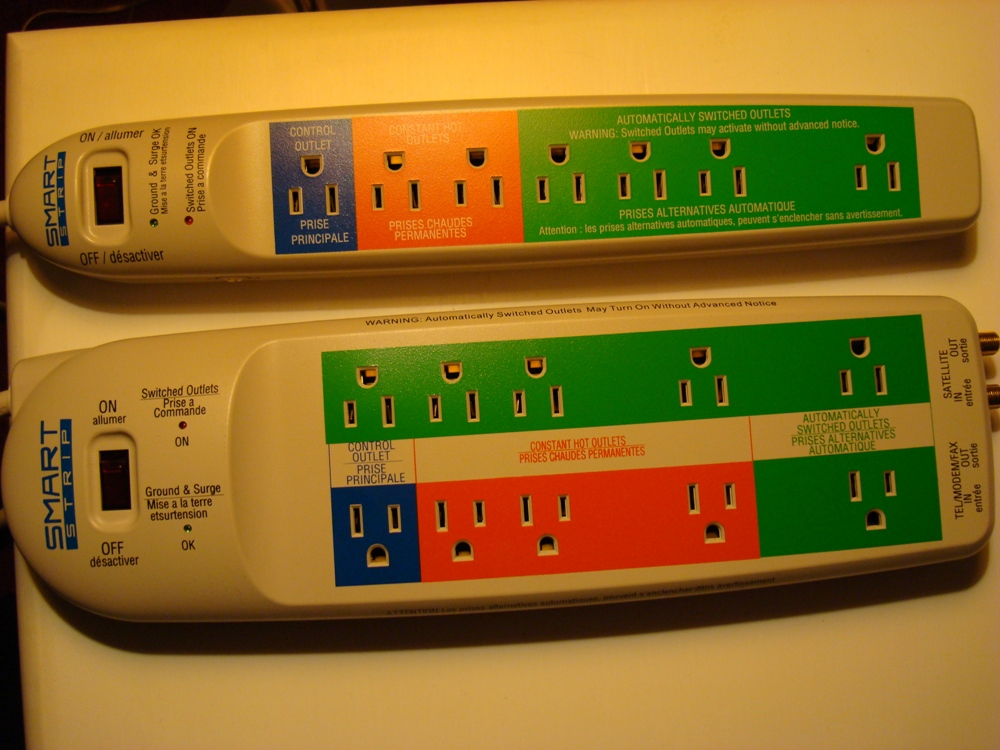 7- and 10-Outlet Smart Strips