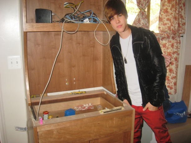 Justin Bieber Helps Me With My DIY Projects