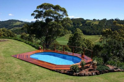Above Ground Pool - DeckHill image via Jesse Langley