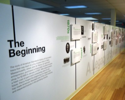 American Standard Wall of History From the Beginning