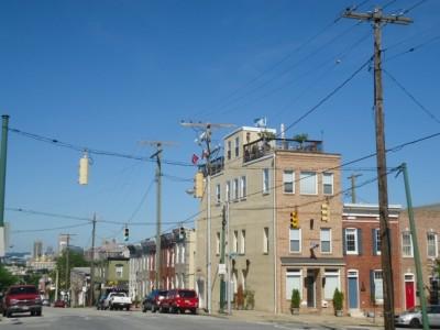 A Rooftop Deck Brewer's Hill Baltimore