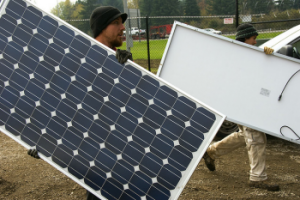 Home Solar Panels by OregonDOT via Flickr CC