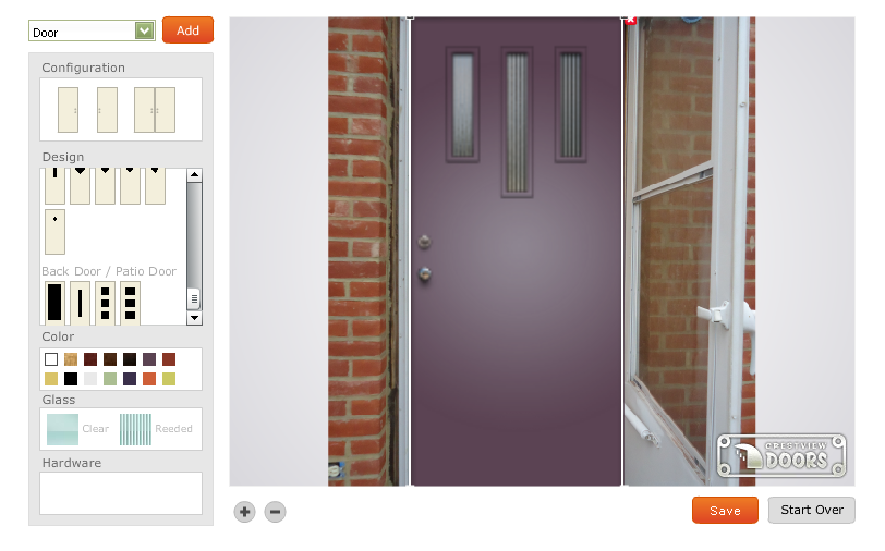 Crestview Throckmorton Reeded on Lilac & Door Lite Kits are an Affordable Option: Easy to Install \u0026 Instant ...