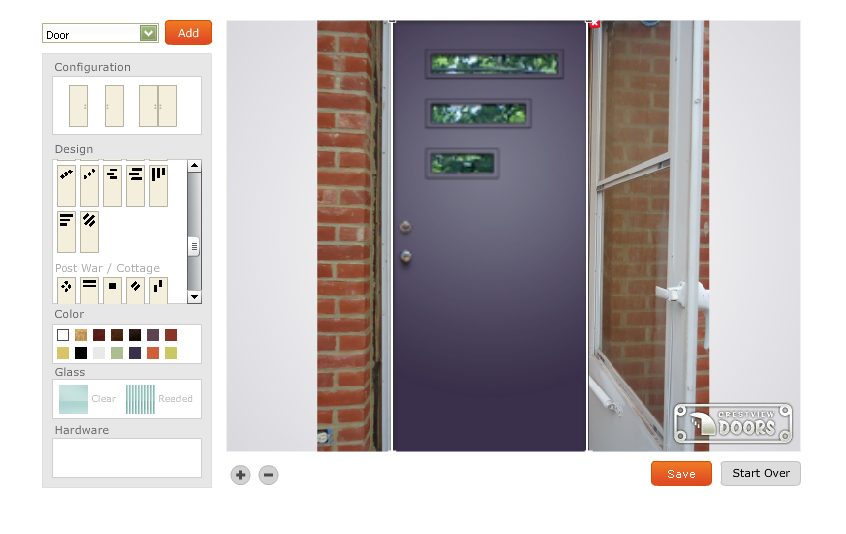 Crestview Westhaven in Lilac  sc 1 st  Building Moxie & Door Lite Kits are an Affordable Option: Easy to Install u0026 Instant ... pezcame.com