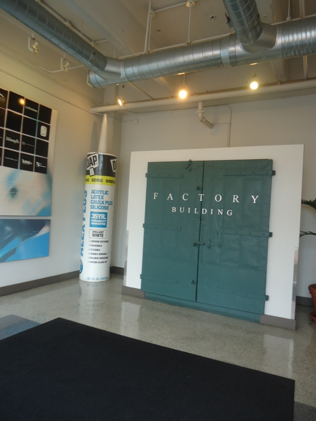 Building Moxie Tours DAP Products HQ and Plant in Baltimore