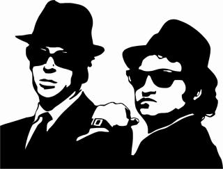 Jake and Ellwood - the Blues Brothers