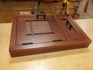 Cabinet Mock-up Crown Point via Building Blox