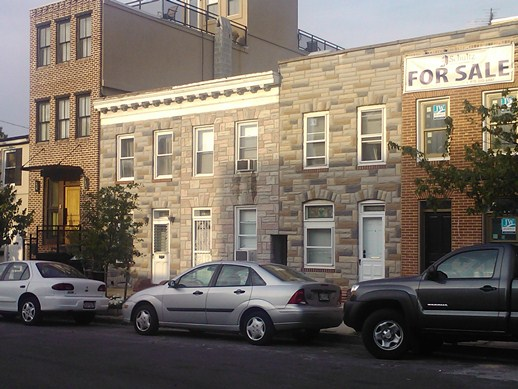Set of Rowhomes in Baltimore's Canton area