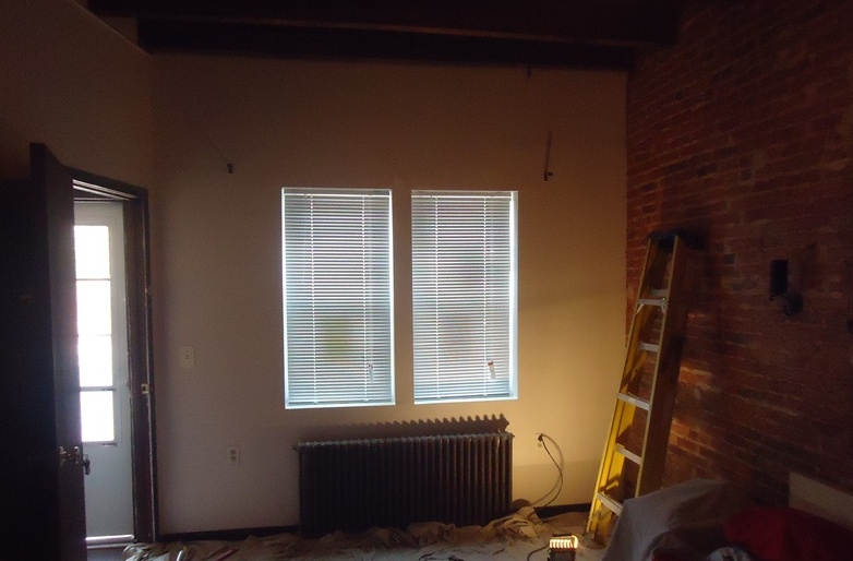 Interior First Floor Baltimore Rowhome