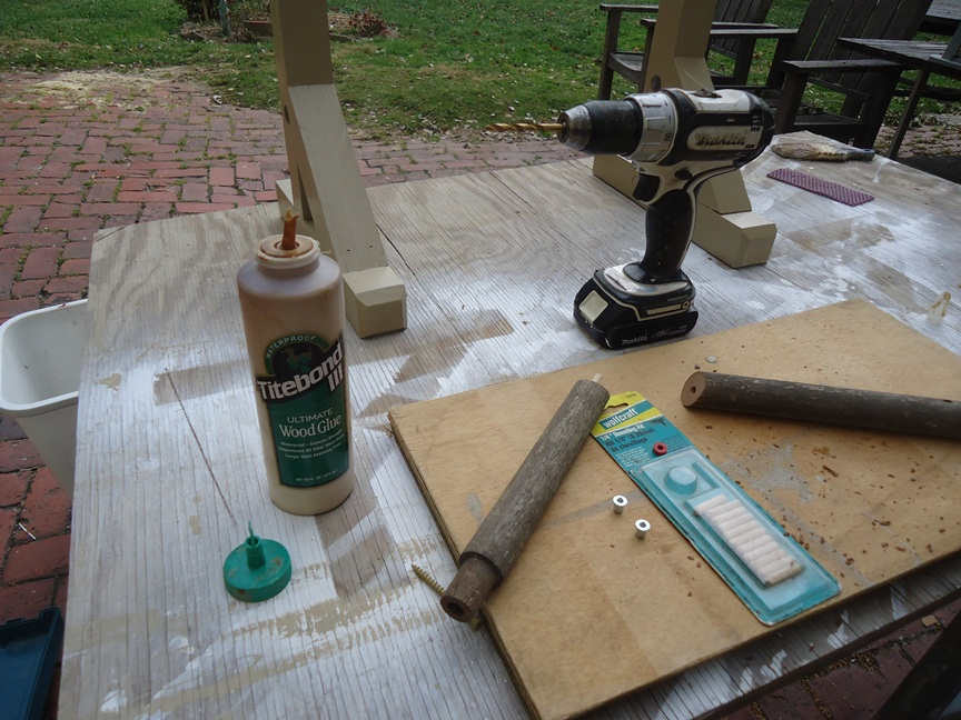 Shortening a Cross Support Using a Doweling Kit