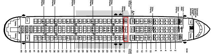 airplane seating secrets :: 767 seating chart