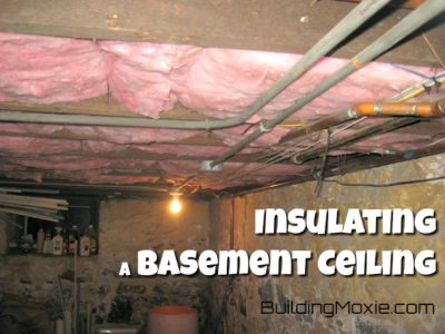 Insulated Basement Ceiling