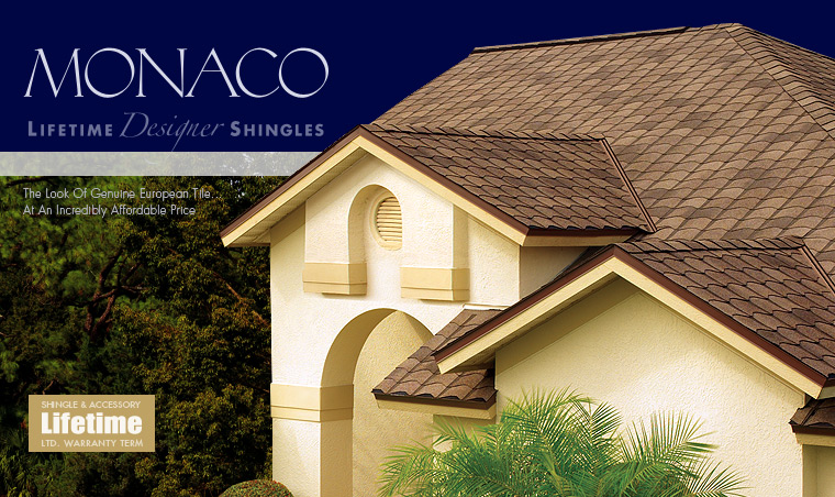 Monaco Shingle Series GAF