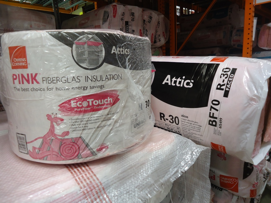 Owens Corning EcoTouch Insulation Batts & Roll at the Home Depot