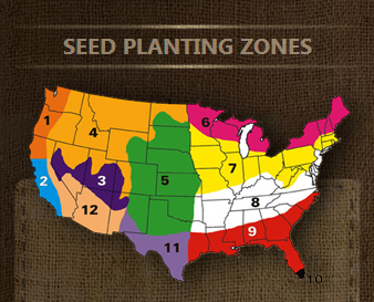Seed Planting Zones