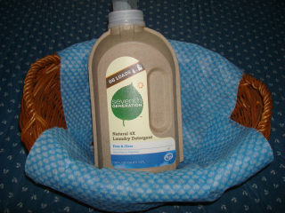 Eco-Friendly Laundry Detergent Bottle