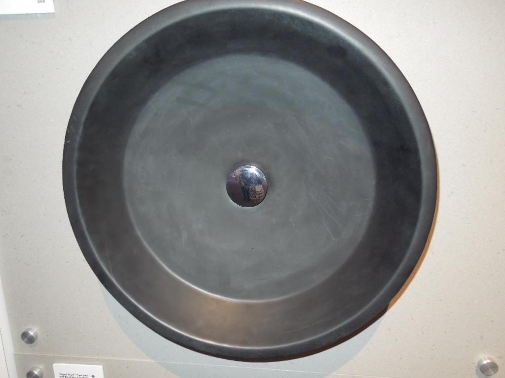 Toto's Black Cast Iron Lavatory Sink