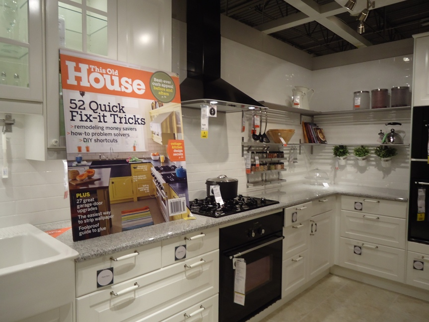 Creating a Cook Space :: This Old House Magazine Ikea Vignette