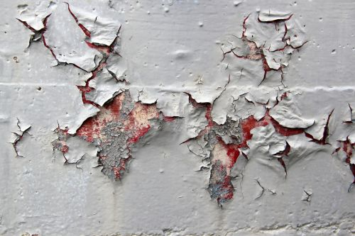 Spring checkup home improvement projects to consider this spring - Exterior paint peeling concept ...