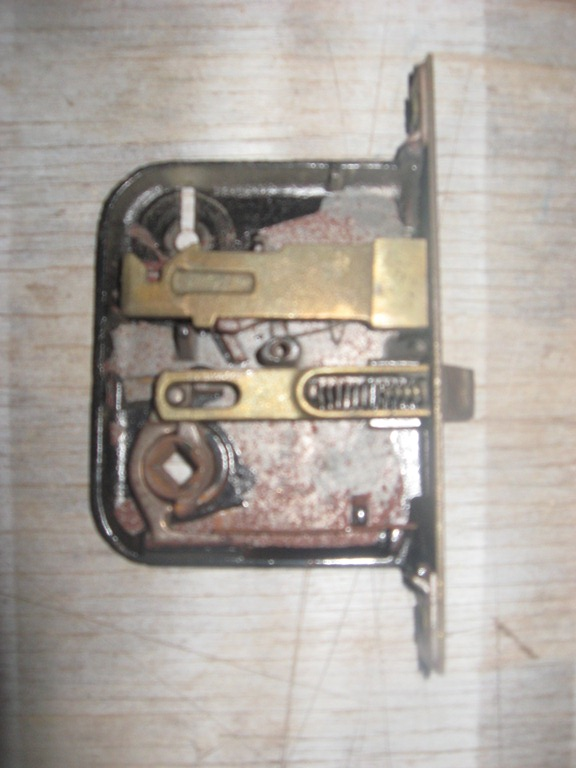 Inside of a Mortise Lock Set